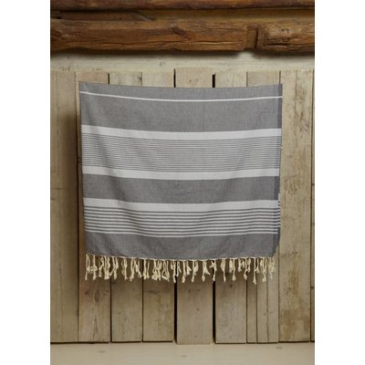 Call it Fouta! hamamdoek XXL Saint Tropez dark grey