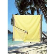 PURE Kenya kikoy handdoek Garissa yellow