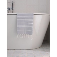 Ottomania hamam handdoek lichtgrijs