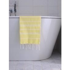 Ottomania hamam handdoek citroengeel