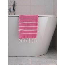 Ottomania hamam handdoek fuchsia