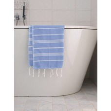 Ottomania hamam handdoek lavendelblauw