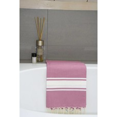 Call it Fouta! hamamdoek Robuste rose bonbon