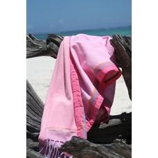 PURE Kenya kikoy kinder strandlaken Kinondo pink