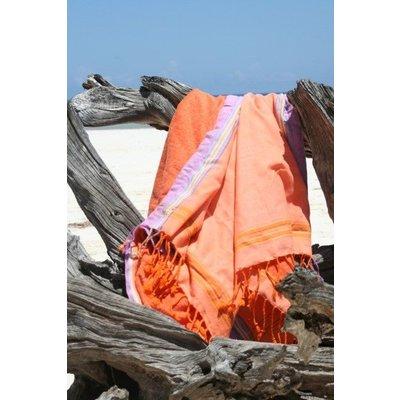 PURE Kenya kikoy kinder strandlaken Diani orange