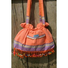 PURE Kenya kikoy beach baggie orange