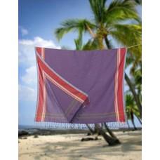 PURE Kenya kikoy handdoek purple red