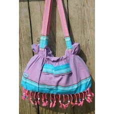 PURE Kenya kikoy beach baggie Watamu purple