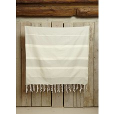 Call it Fouta! hamamdoek XXL Saint Tropez light gray