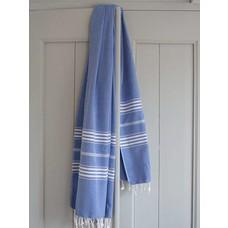 Ottomania hamamdoek XL grieksblauw