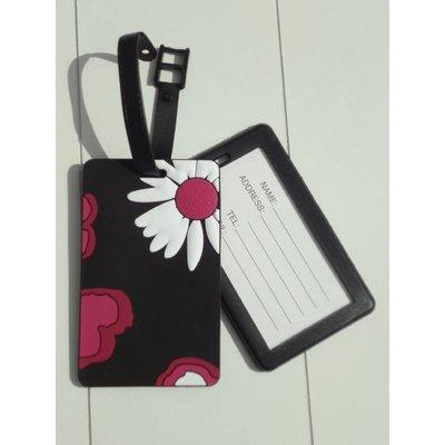 "Hamams own bagagelabel"" flower"""
