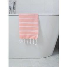 Ottomania hamam handdoek donkerperzik