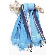 PURE Kenya kikoy strandlaken Jambo blue