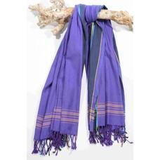 PURE Kenya kikoy handdoek Giza purple
