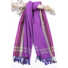 PURE Kenya kikoy handdoek Mandera purple