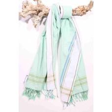 PURE Kenya kikoy handdoek Diani mint