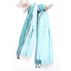 PURE Kenya kikoy XL strandlaken light turquoise