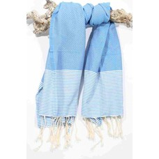 Call it Fouta! hamamdoek Fines aqua blue