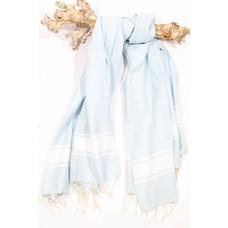 Call it Fouta! hamamdoek Robuste blue pastel