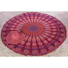 Roundie Gypsy Peacock red