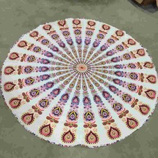 Roundie Gypsy Peacock Carnival