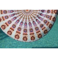 Call it Fouta! Roundie Gypsy Peacock Carnival