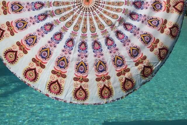 Roundie – dit ronde strandlaken voor strand & festival is de ultieme zomer musthave 2016