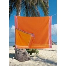 PURE Kenya kikoy strandlaken Ukunda orange pink