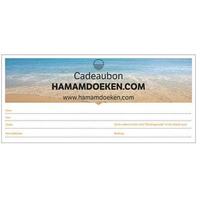 Hamamdoeken.com Cadeaubon