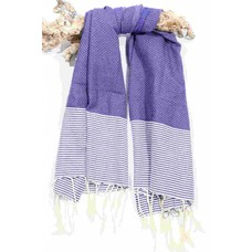 Call it Fouta! hamamdoek Fines marine blue