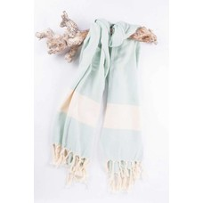 Call it Fouta! hamamdoek Herringbone magic mint