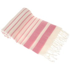 Hamams own hamamdoek Aquastreeps pink