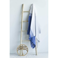 Call it Fouta! fouta Splash blue denim gray