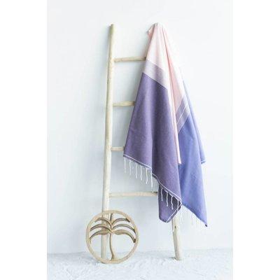Call it Fouta! fouta Splash pink purple mauve