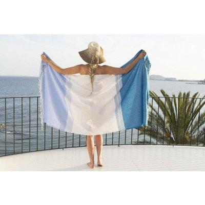 Call it Fouta! fouta Splash soft blue aqua