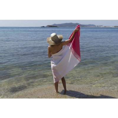 Call it Fouta! fouta Splash baby pink pink
