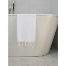 Ottomania hamam handdoek wit