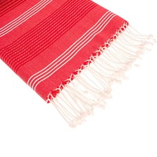 Hamams own hamamdoek BeachFun rood