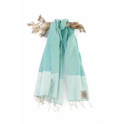Call it Fouta! hamamdoek Fines turquoise 200x100cm