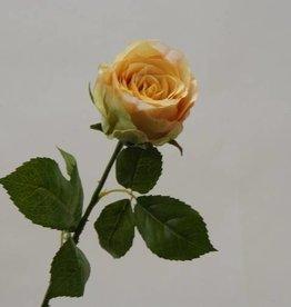 Zijden kunst roos