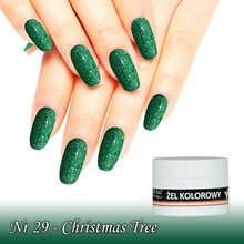 UV Color Gel Christmas Tree nr 29