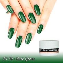 UV Color Gel Pure Green nr 30