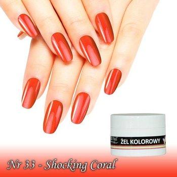 UV Color Gel Shocking Coral nr 33