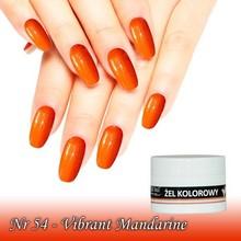 UV Color Gel Vibrant Mandarine nr 54