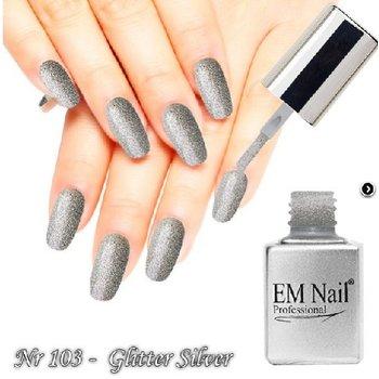 Glitter Silver nr 103 (15ml)