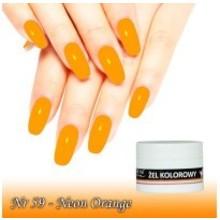 UV Color Gel Neon Orange nr 59