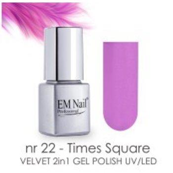 Velvet Gellak nr 22