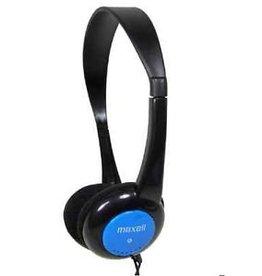 Maxell Maxell Kinderkoptelefoon kleur Blauw