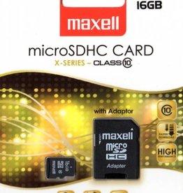 Maxell Maxell Micro SDHC Card 16GB Class 10