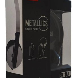 Maxell Maxell Metallic Combopack Earphone + Headphone